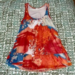 Anthropologie Weston Wear Colorful Tank Top